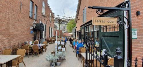 Terras Brasserie De Schuur