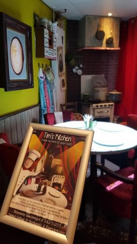3D diner Tim's Kitchen restaurant Timmy's Raamsdonksveer
