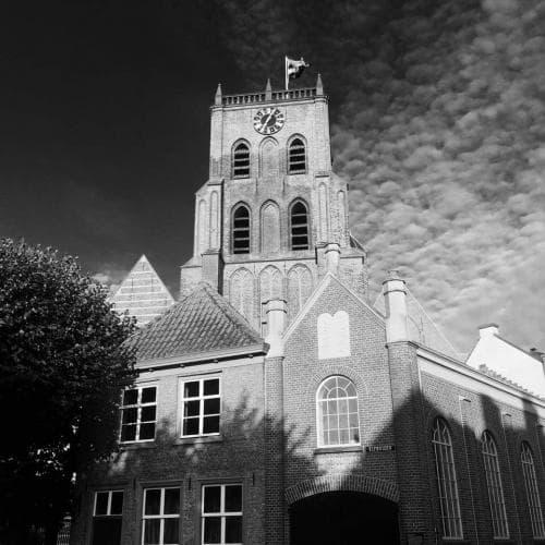 Hotel Heere Raamsdonksveer overnachten in gemeente Geertruidenberg kerk op de markt